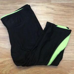Marika Tek Black Capri Leggings